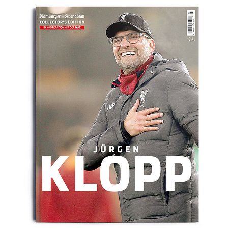 Jürgen Klopp Collector´s Edition Hamburger Abendblatt
