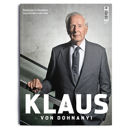 Klaus v. Dohnanyi Collector´s Edition Hamburger Abendblatt