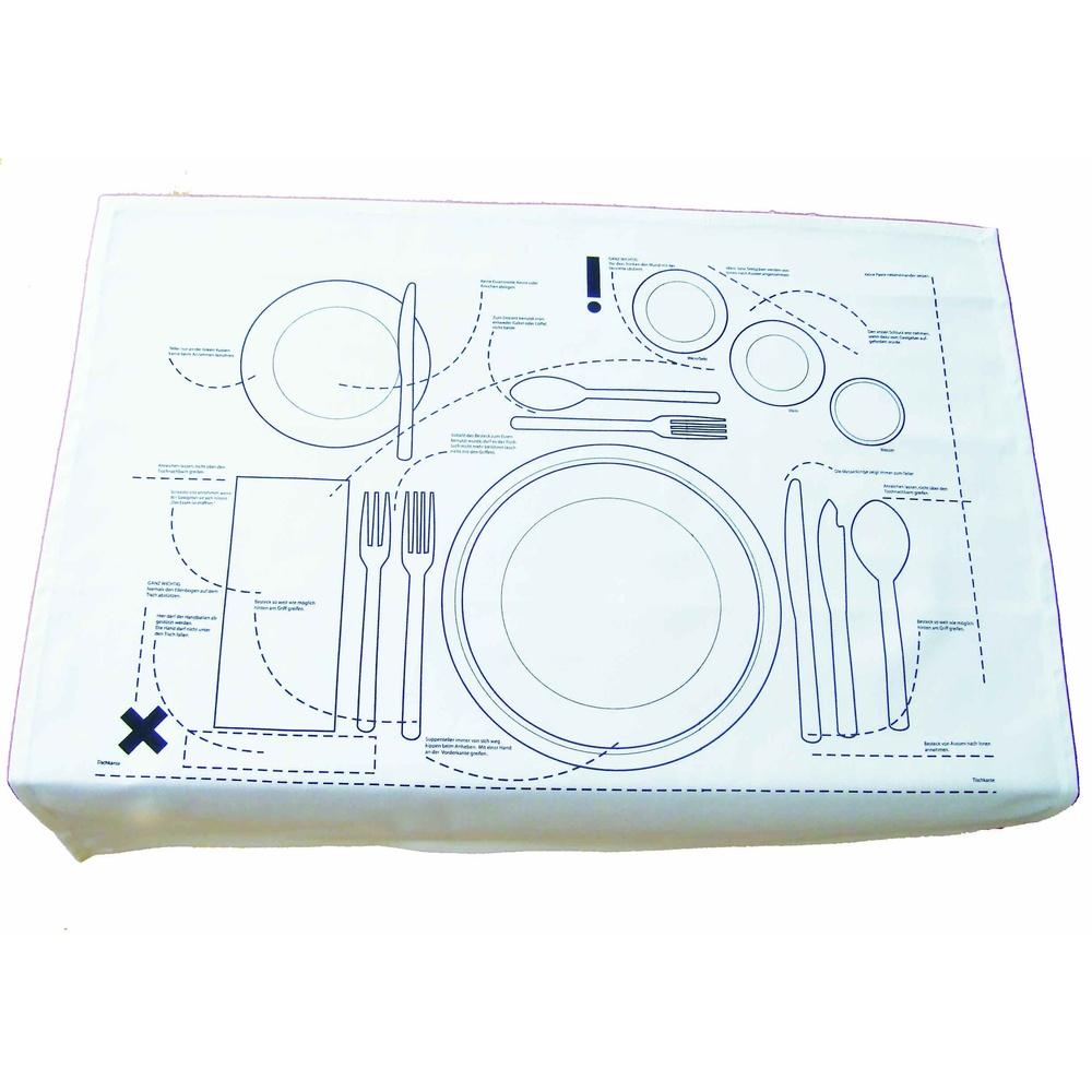 tischset knigge f r erwachsene hamburger abendblatt shop. Black Bedroom Furniture Sets. Home Design Ideas